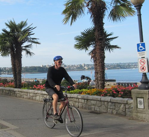Read all about the Seaside Bike route here - Vancouver cycling, Vancouver bike rides