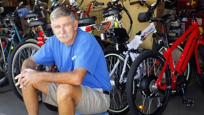 Turbo Bob is a respected expert in the booming field of electric bikes