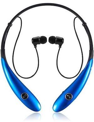 These Bluetooth headphones are available in more colors than just your basic black!