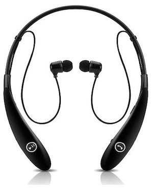 These Bluetooth headphones have a really interesting design