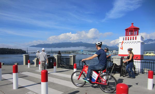 Brockton Point Lighthouse, Stanley Park Seawall Bike Trail