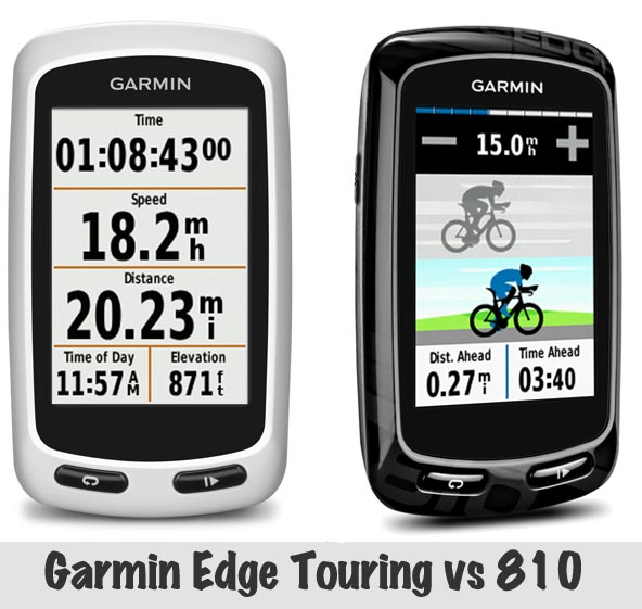 Garmin Edge Touring vs 810