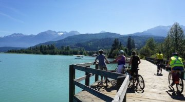 Whistler Valley Trail – Whistler Village to Green Lake