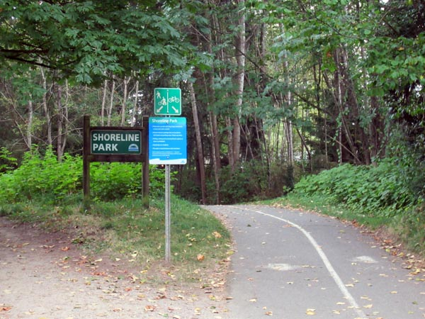 The Shoreline Trail has two separate but parallel trails. Shoreline Trail in Rocky Point Park, Port Moody, BC, Canada – Guide and videos