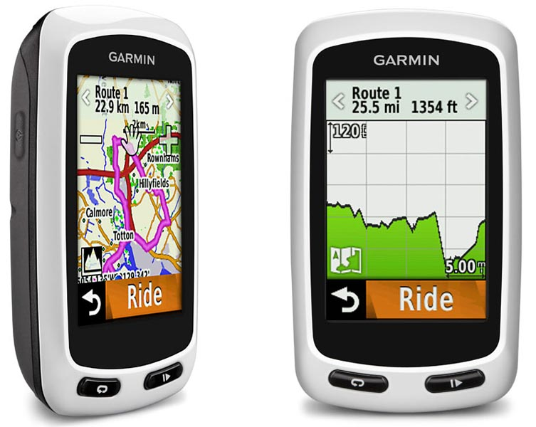 The Garmin Edge Touring Is Ideal For Finding Your Way Around It Was The First