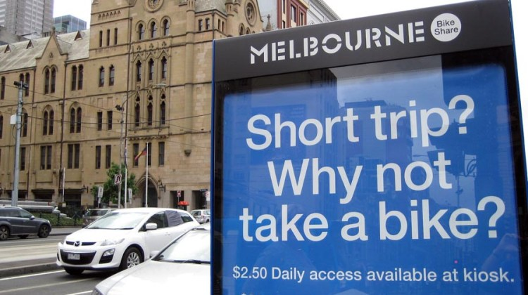 Why not take a bike - Melbourne Bike Share