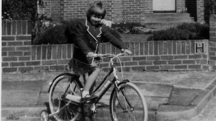 Somehow a kid riding a bike to school was a pretty normal thing in the 1960s. How to Help your Kids Bike to School
