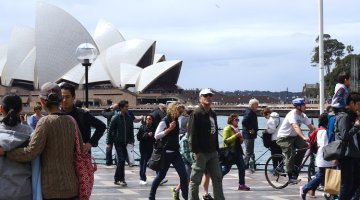 Sydney Cycling – Seriously Scary!