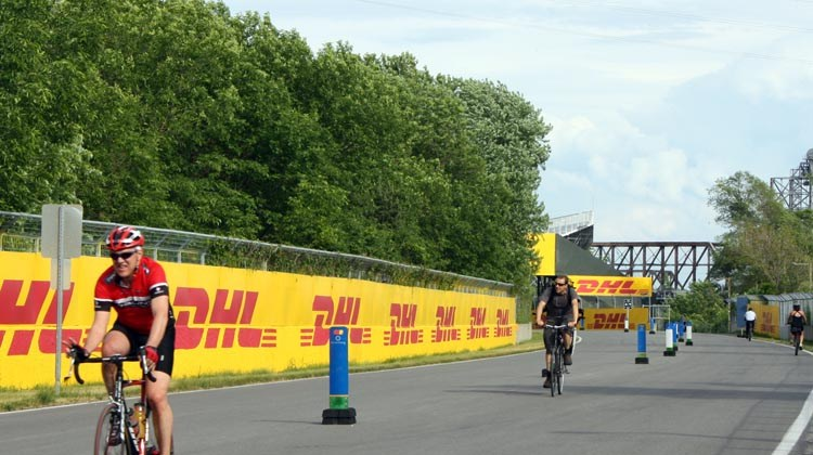 Monter à vélo à Montréal, partie 5 : Vieux-Montréal au circuit Gilles-Villeneuve