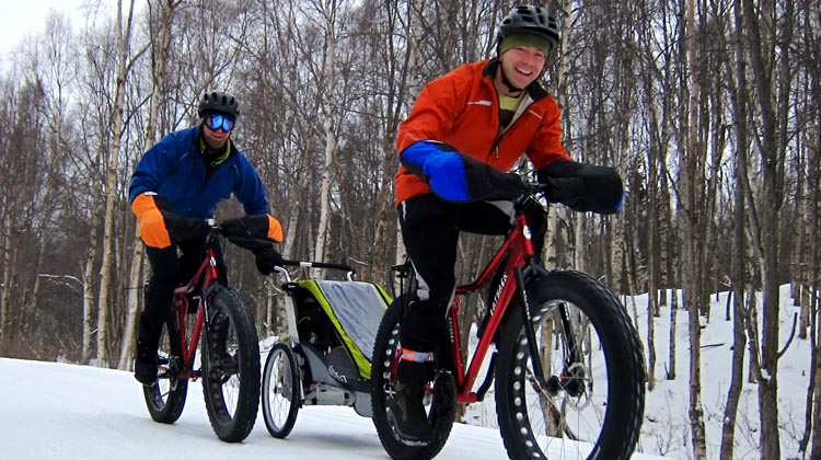 Winter is the perfect time to ride with friends or club mates, and just have fun!