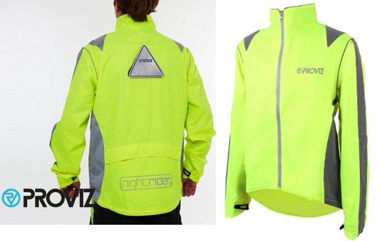 Proviz Nightrider Cycling Jacket - 9 of the Best Waterproof Cycling Jackets for Men and Women