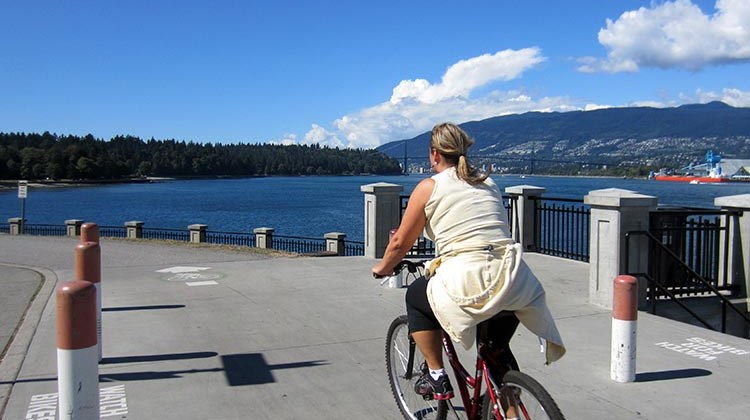 Fair weather cyclists get to cycle through the long, sunny days of summer. Heaven.