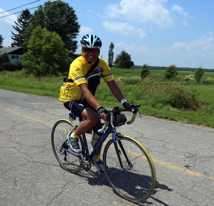 "Michelle Sirio says ""I've always been a person of hope"" - and now she hopes to complete her TENTH Ride to Conquer Cancer!"