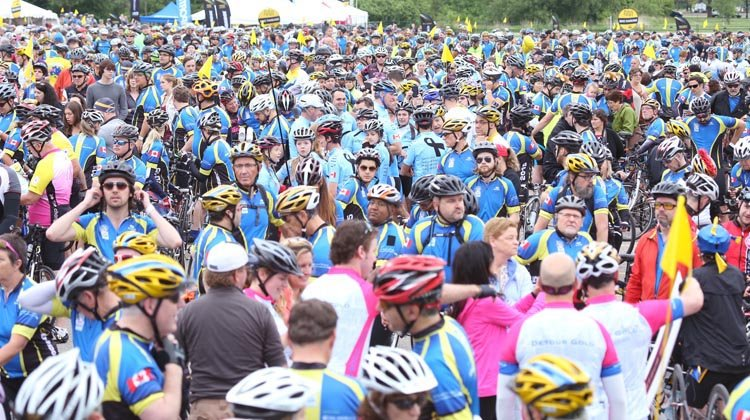 Thousands of people with all kinds of ability level do the Ride to Conquer Cancer every year!