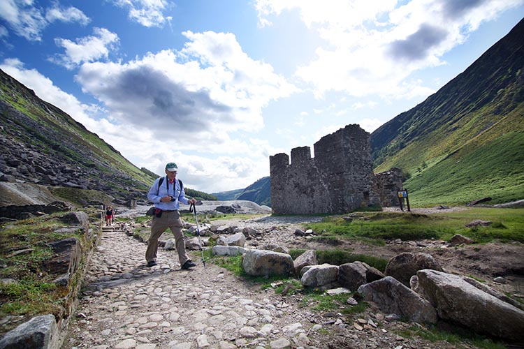 Whether you want to explore the elusive valleys or dare to take on the heights of the hills, the stunning views will be worth the climb. This is Glendalough.