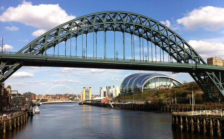 Newcastle upon Tyne is a perfect place for a cycling adventure