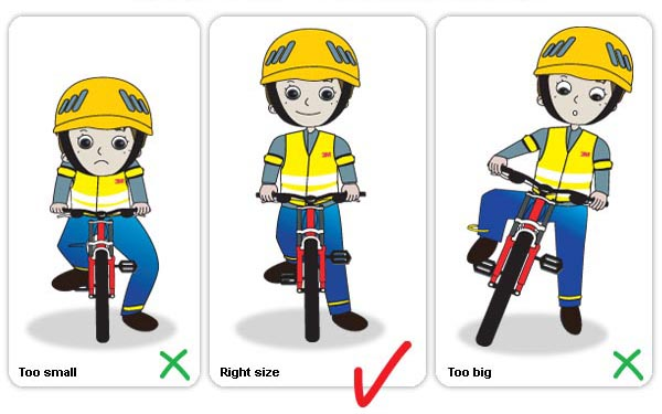 Children Bike Frame Size 22
