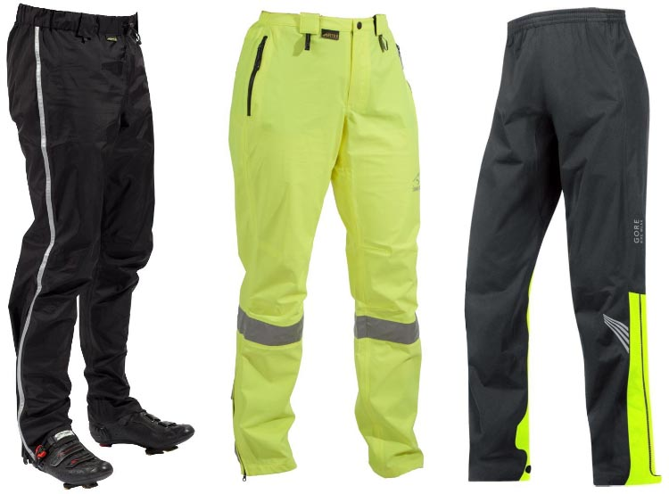 What you need in waterproof cycling pants is a clever combination of waterproofness and breathability, plus comfort and mobility in wearing the pants