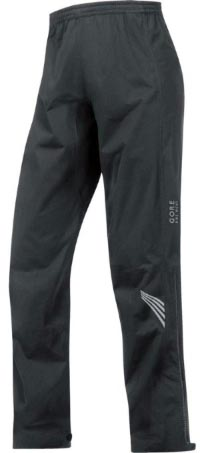 Best Waterproof cycling gear. These Gore Bike Wear Element Pants rate no. 1 on our list of best waterproof cycling pants because they have it all: the quality of the materials and the construction, and the superb waterproofness and breathability.