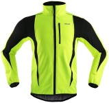 No. 7: ARSUXEO Winter Warm Up Thermal Softshell Cycling Jacket
