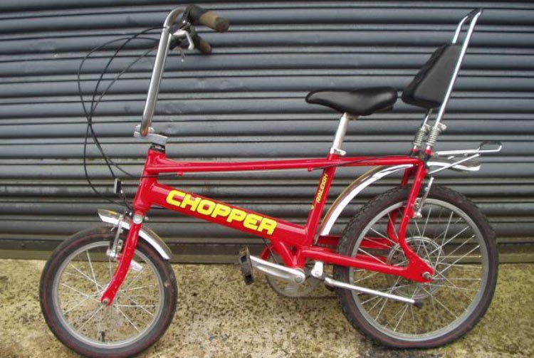 Next, there was the red Chopper incident ...