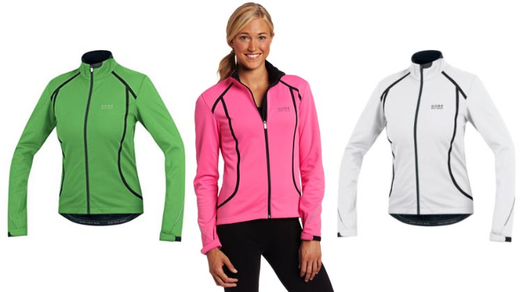 Gore Bike Wear Women's Oxygen SO windproof cycling jacket. 7 of the best women's cycling jackets