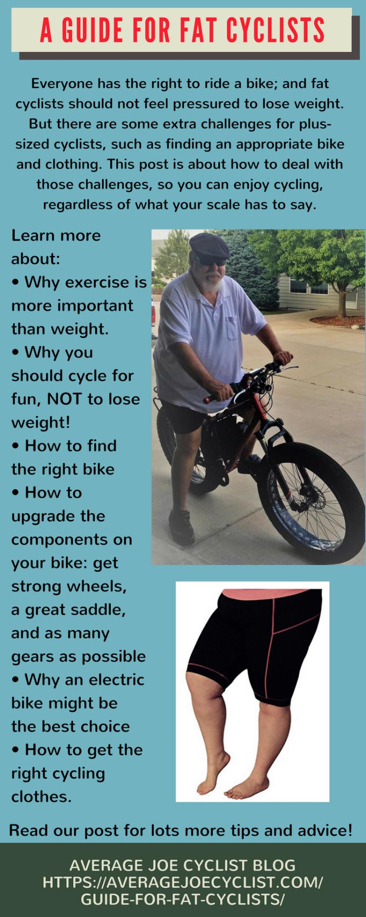 A Guide for Fat Cyclists