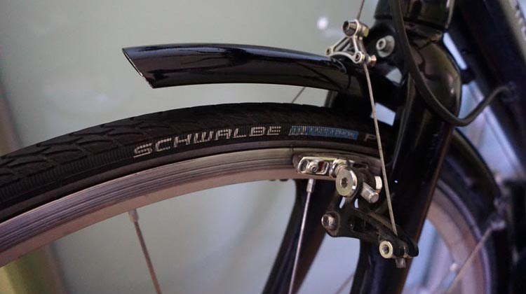 Schwalbe Marathon Plus tires will protect you against most punctures