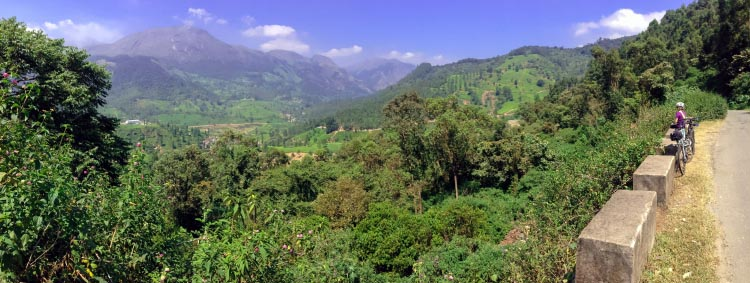 Munnar is very famous for mountain biking. 5 thrilling bike rides in India