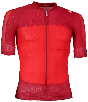 7 of the best short sleeved cycling jerseys for spring and summer. Castelli Aero Race 5.1 Full Zip cycling Jersey
