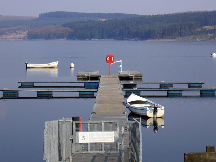 Lakeside Way is a romantic route that takes you around the outskirts of Kielder Lake in rural Northumberland