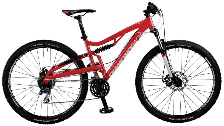 Guide to Bike Terms. Are you buying a new or used bike, and confused by all the bike terms ? Our guide to bike terms will empower you when shopping for a bike. The Diamondback Recoil 29er Mountain Bike is the kind of big strong bike with dual suspension that you need for mountain biking.