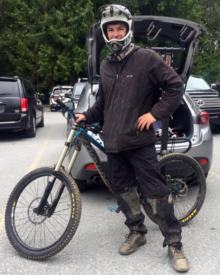 Get the right training, do a lot of practicing, and you should be ready to go! Here's Steven, a hardcore mountain biker who has just ridden his Devinci dual suspension mountain bike down Whistler Mountain in BC! 7 Tips to Become a Mountain Biker
