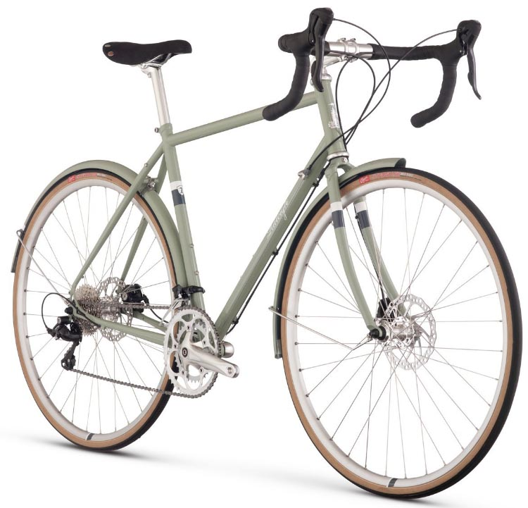 Guide to Bike Terms. Are you buying a new or used bike, and confused by all the bike terms ? Our guide to bike terms will empower you when shopping for a bike. The Raleigh Clubman is a great example of a road bike. This one has won awards, and you can buy it at a great price from Amazon