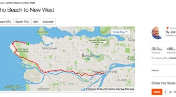 How to Create a Route on Strava and Follow it on Your Smart Phone or Garmin Edge Bike Computer