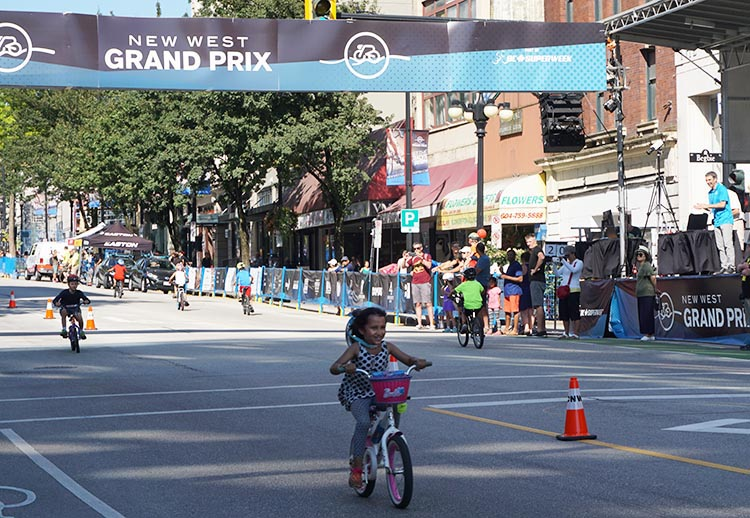Columbia Street never looked like this before! First New Westminster Grand Prix a Huge Success