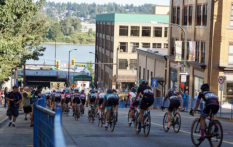 This year featured a brand new event, the New Westminster Grand Prix, raced on the steep hills of downtown New Westminster. First New Westminster Grand Prix a Huge Success
