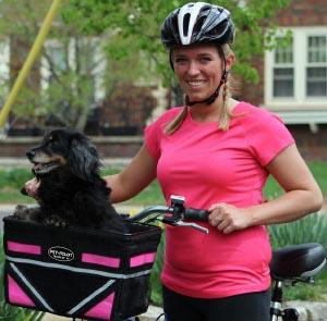 Pet Pilot front mounted dog bike basket. 5 of the Best, Safe Dog Bike Baskets - Front, Rear, and Trailer