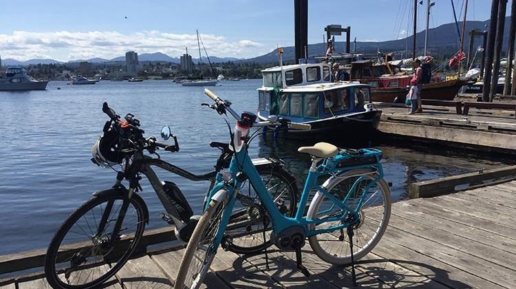 Guide to Biking on Newcastle Island, Nanaimo