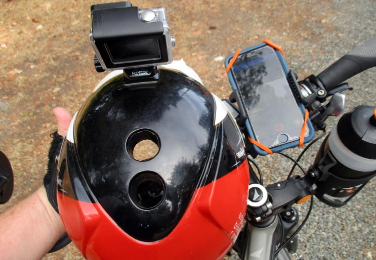 My TaoTronics Bike Phone Mount enables me to use my iPhone to remote control my GoPro. TaoTronics Bike Phone Mount Review