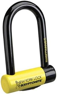 5 of the Best Bike Locks. No. 2: Kryptonite Fahgettaboudit U-Lock. 5 of the Best Bike Locks - How to Choose the Best Bike Lock