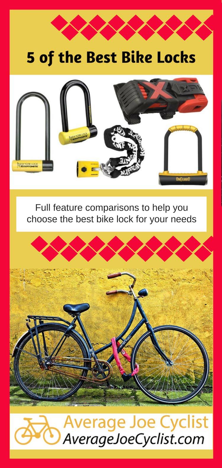 5 of the Best Bike Locks.