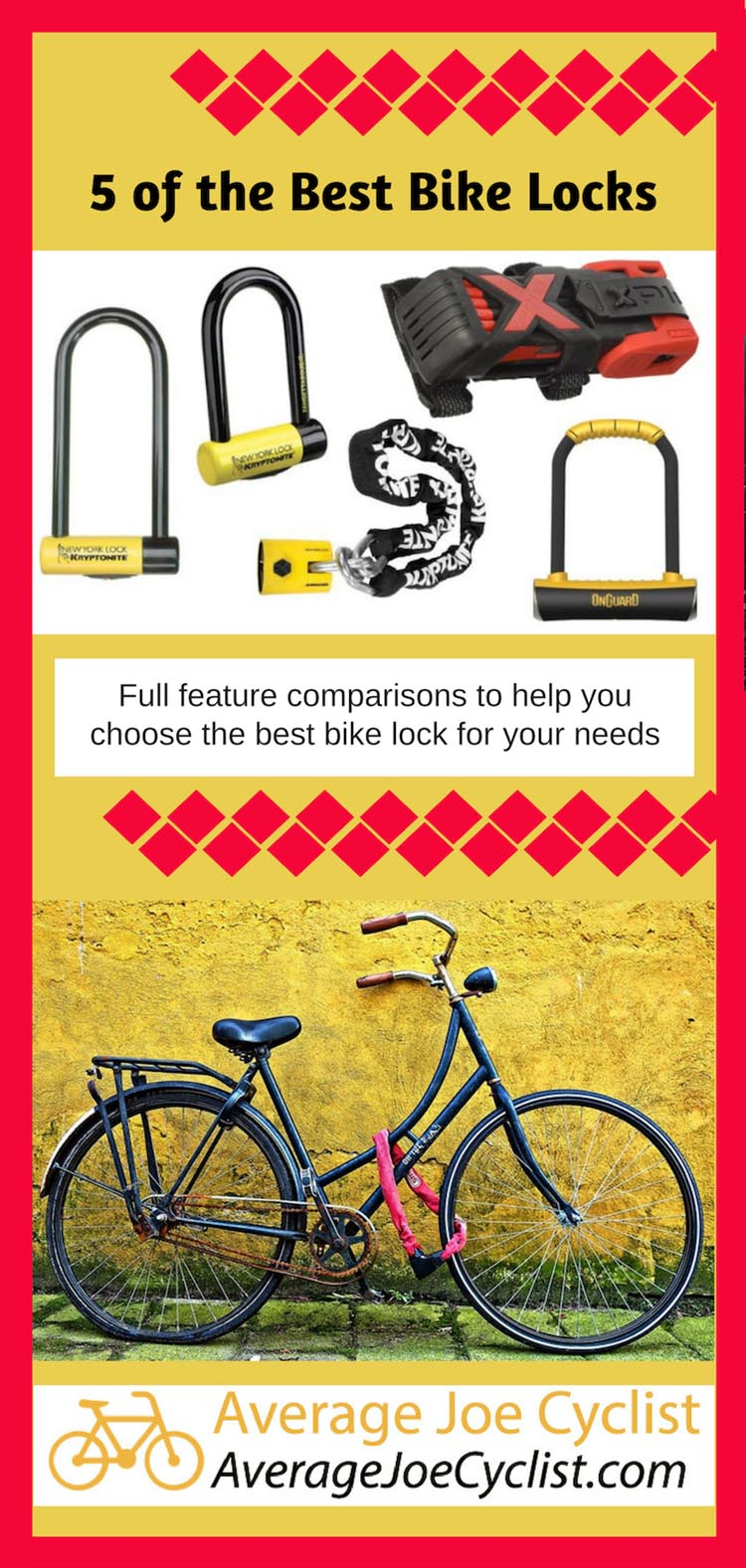 5 of the Best Bike Locks