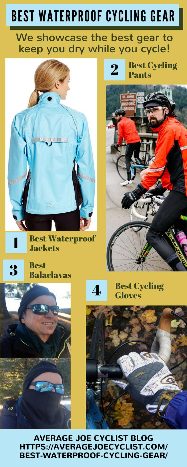 Best Waterproof cycling gear