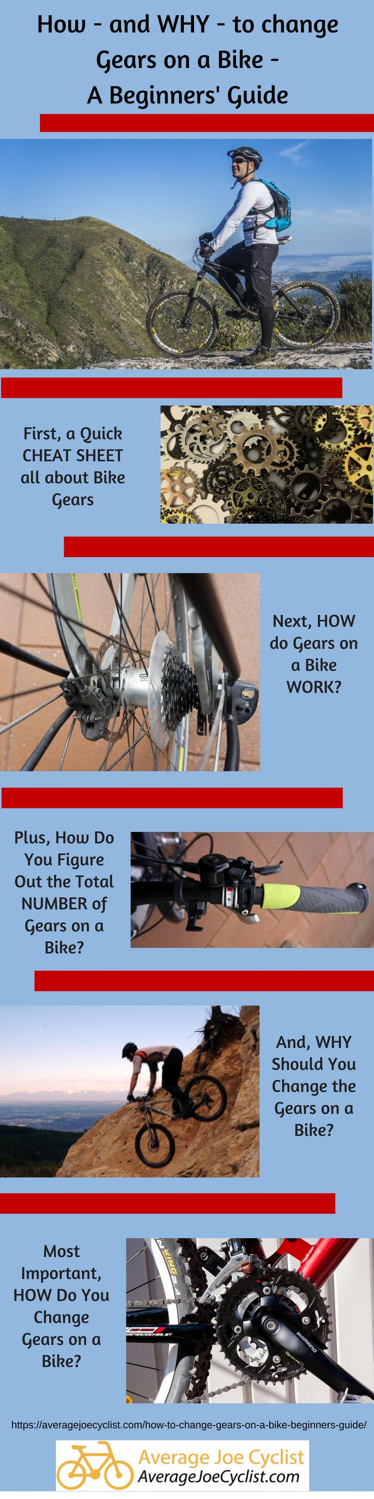 How and Why to change gears on a bike - A Beginners Guide