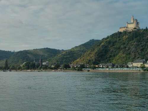 A castle on the Rhine