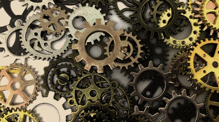 The magic of gears on bikes is achieved with a number of metal rings and cogs, all with little teeth on them. How to change gears on a bike