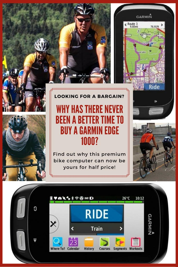It's a Perfect Time to Buy a Garmin Edge 1000!
