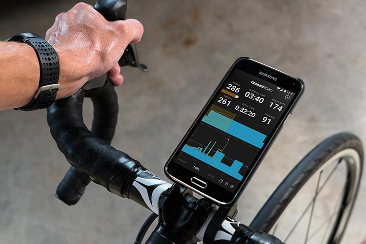 Garmin has partnered with TrainerRoad