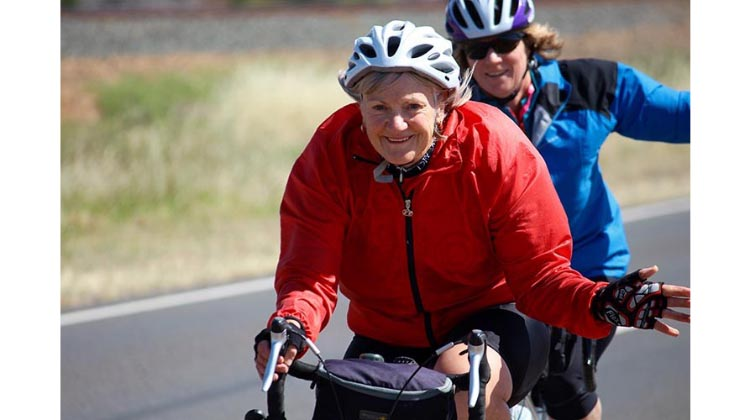 Cycling is a low-impact form of exercise that is safe and fun for most people